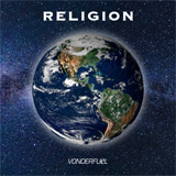 High resolution album artwork to download, Vonderfuel 'Religion' - Earth from space, NASA Goddard Space Flight Center